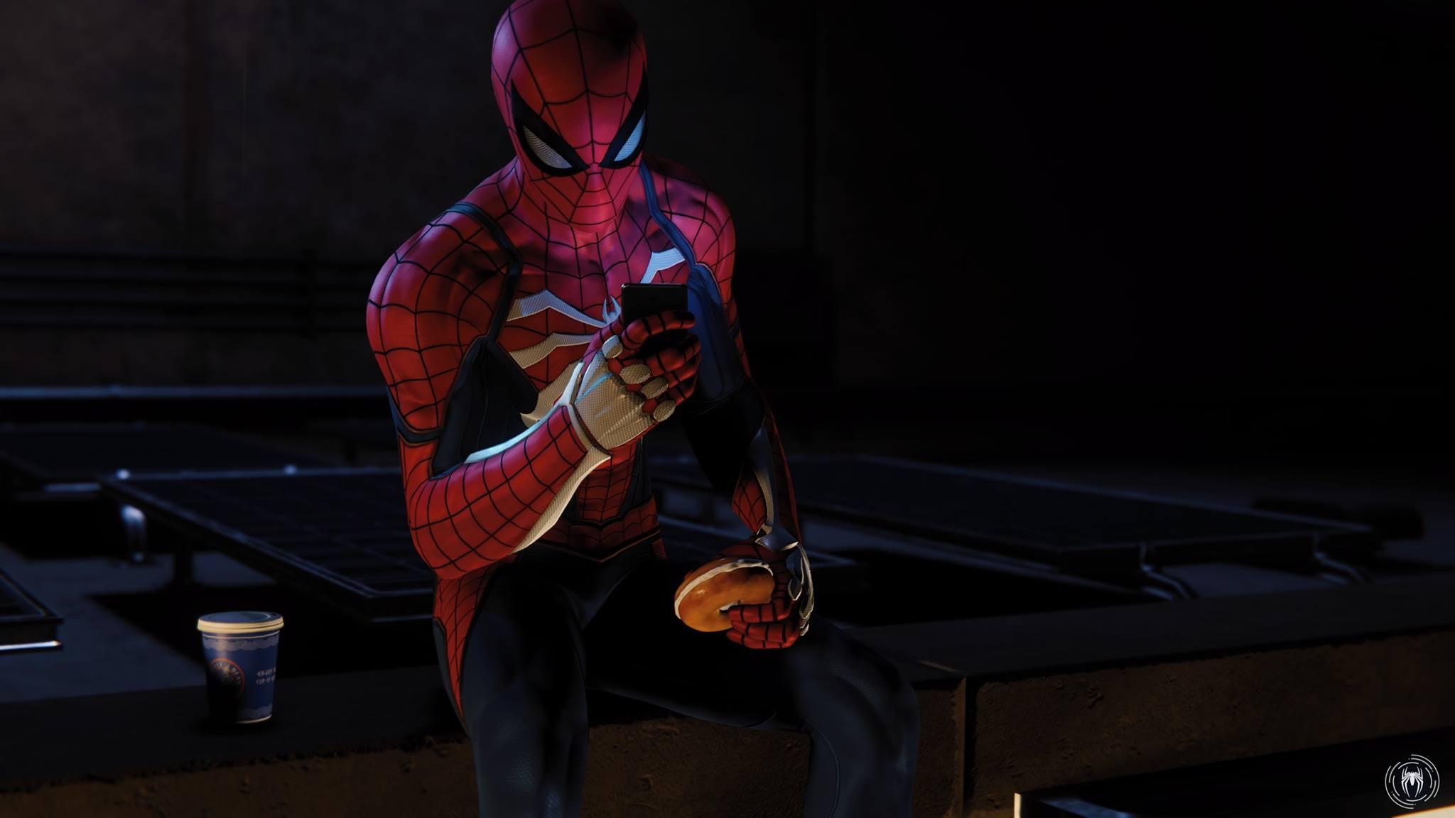 spider-man burger