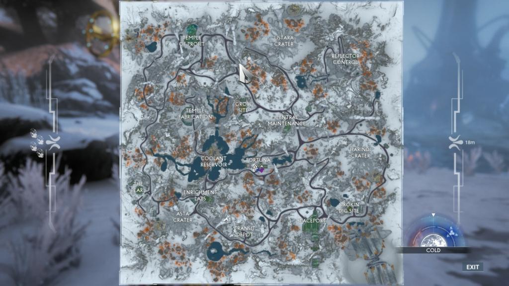 Orb Vallis Map