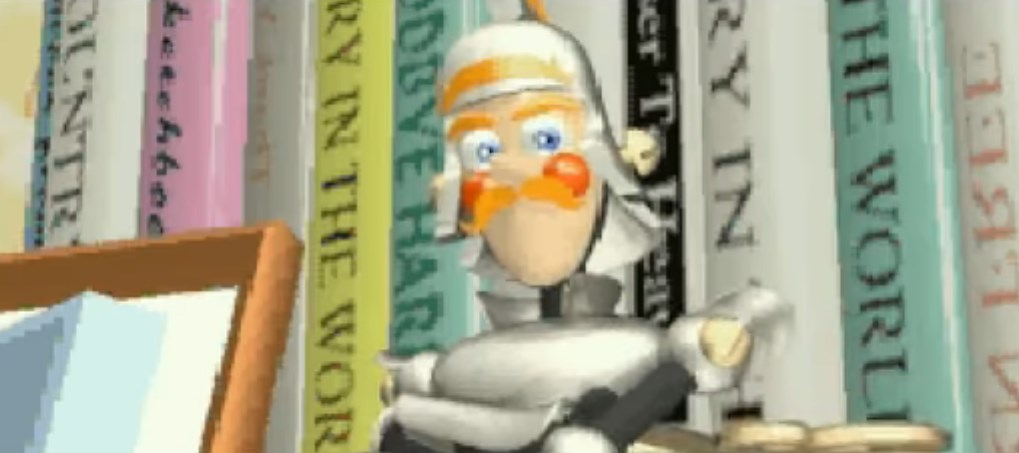 sir ginger clockwork knight