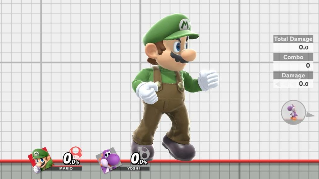 Mario Luigi Skin
