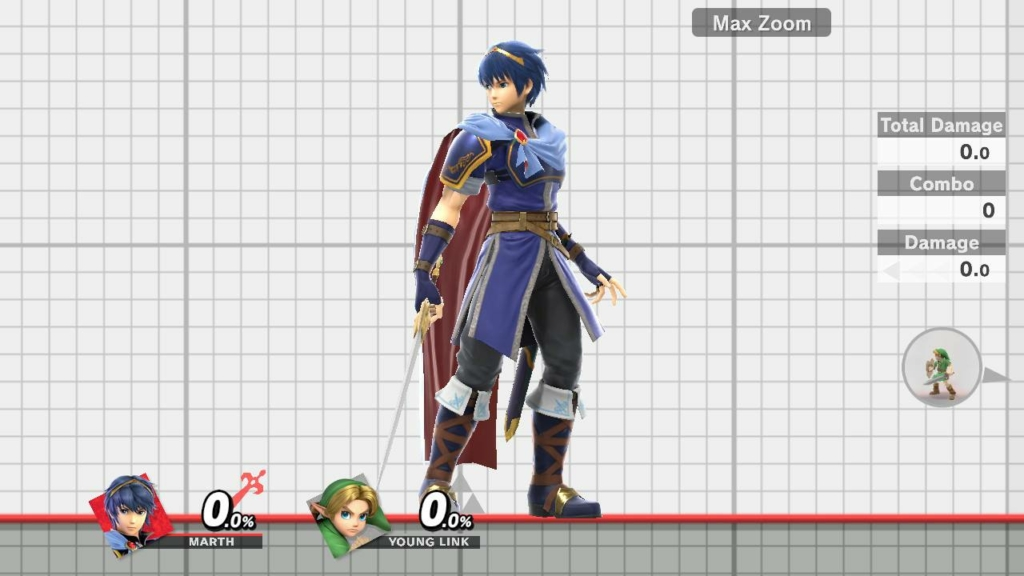 Smash Ultimate Marth Dark Blue