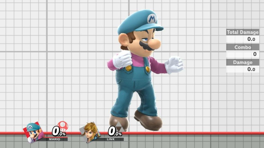 Mario Blue