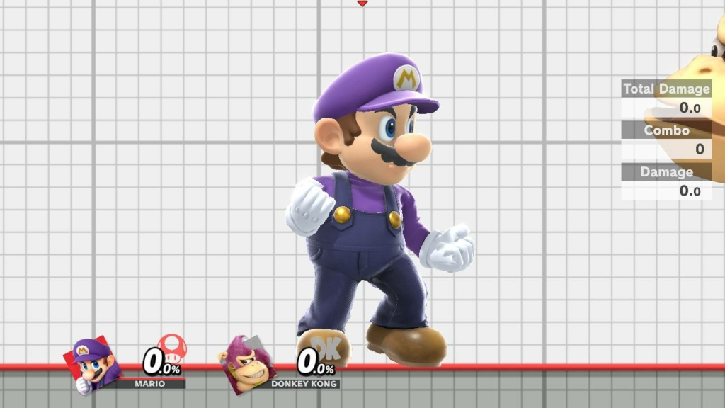 Mario Purple