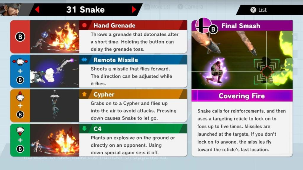 Snake Moves