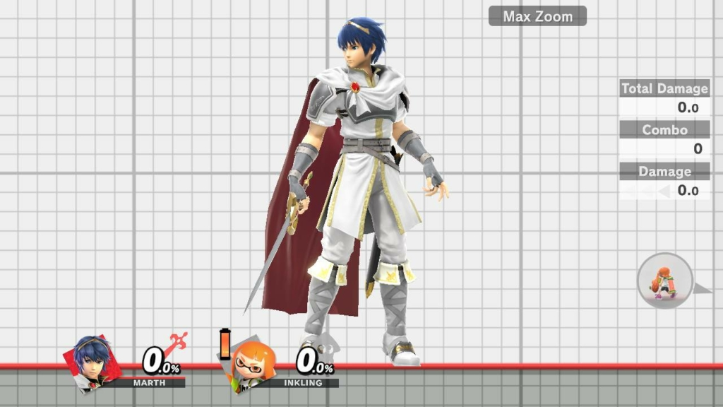 Smash Ultimate Marth White