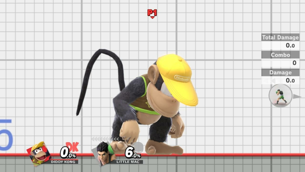 Diddy Kong Brown