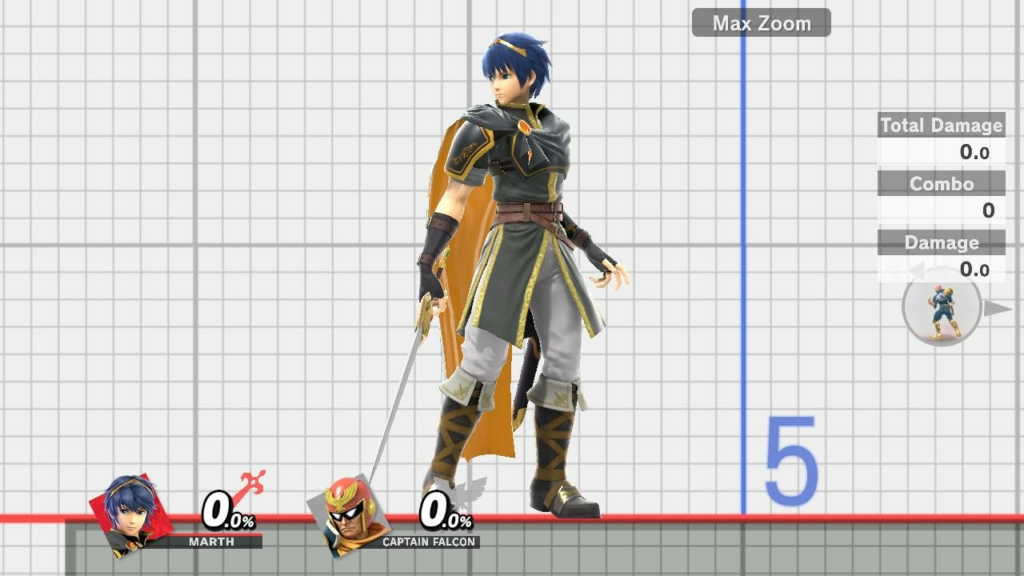 Smash Ultimate Marth Black
