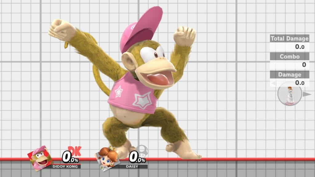 Diddy Kong Pink