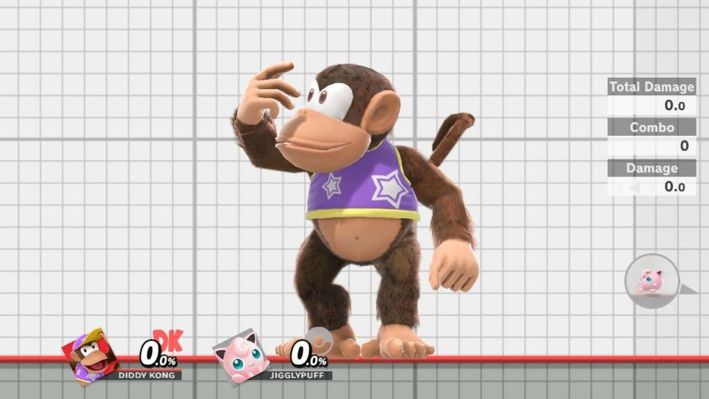 Diddy Kong Purple