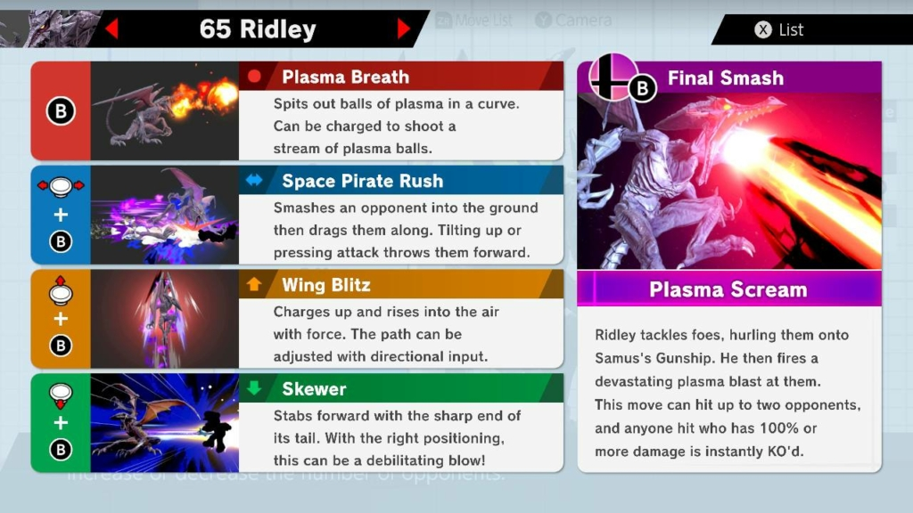 Ridley Moves
