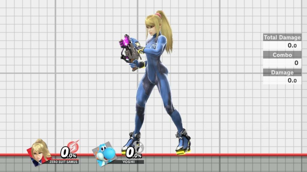 Zero Suit Samus Dark Blue
