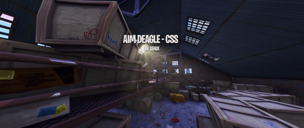 Aim Deagle, one popular map recreating a Counter-Strike level.