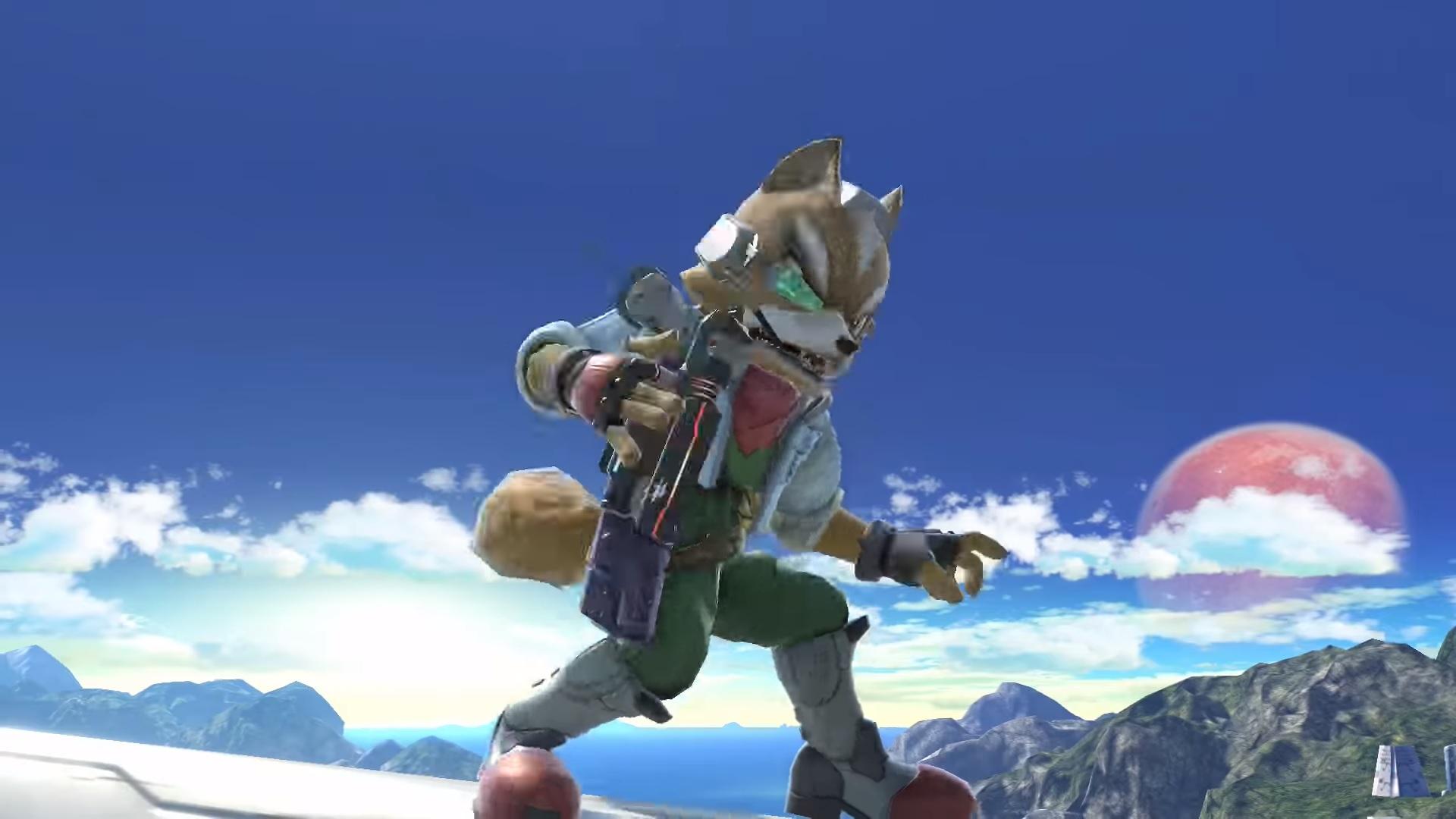Smash Ultimate Fox