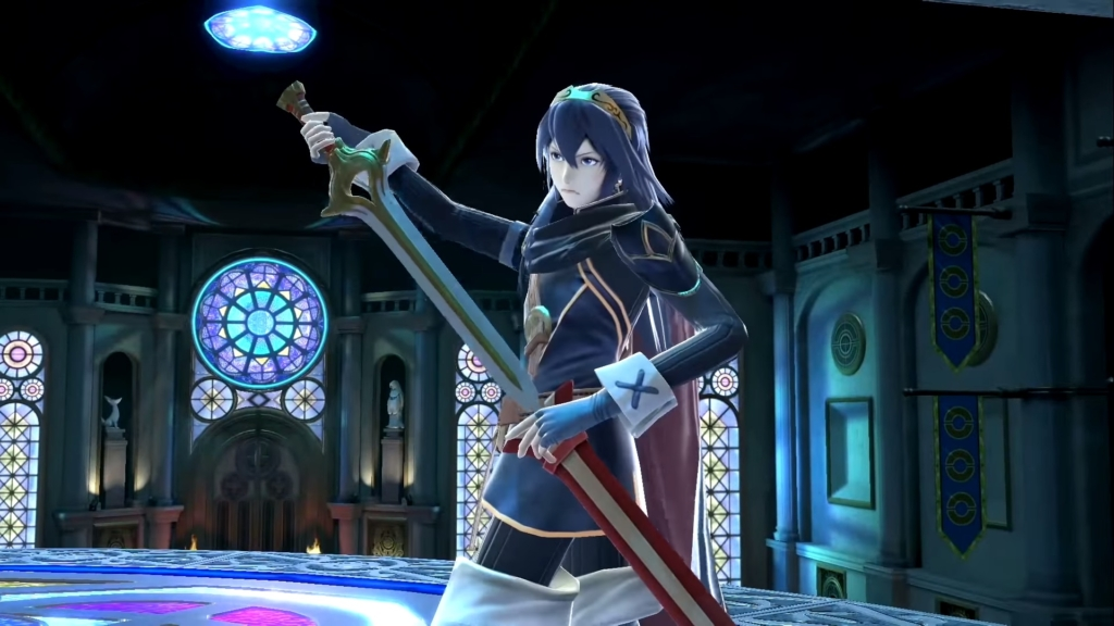 Smash Ultimate Lucina