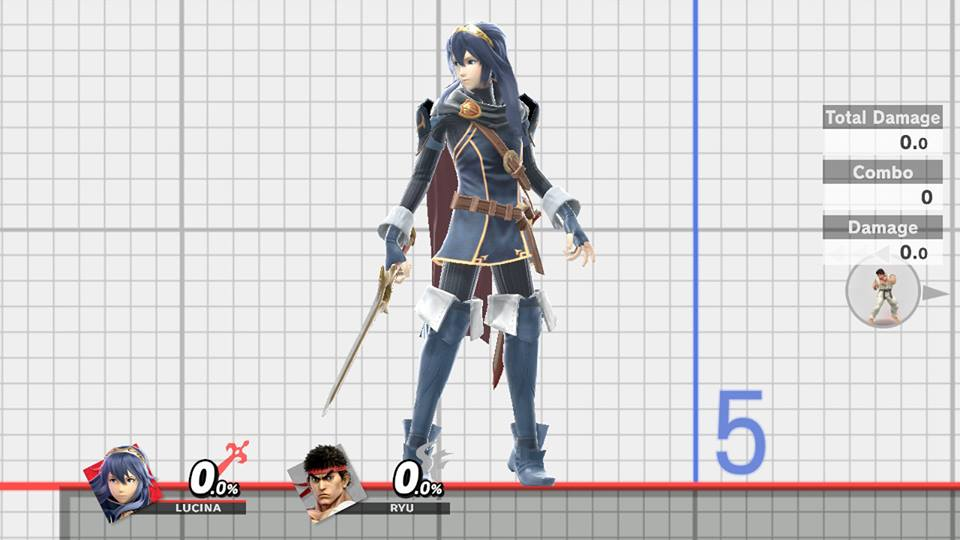 Lucina Smash Ultimate