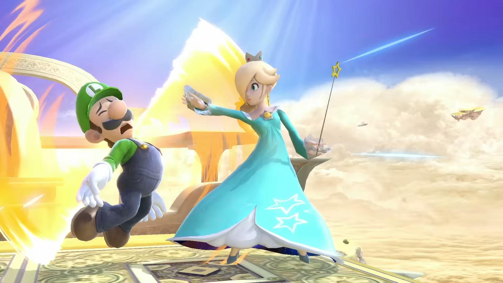 Rosalina and Luma Smash Ultimate