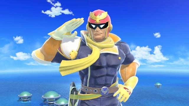 Smash Ultimate Falcon Taunt