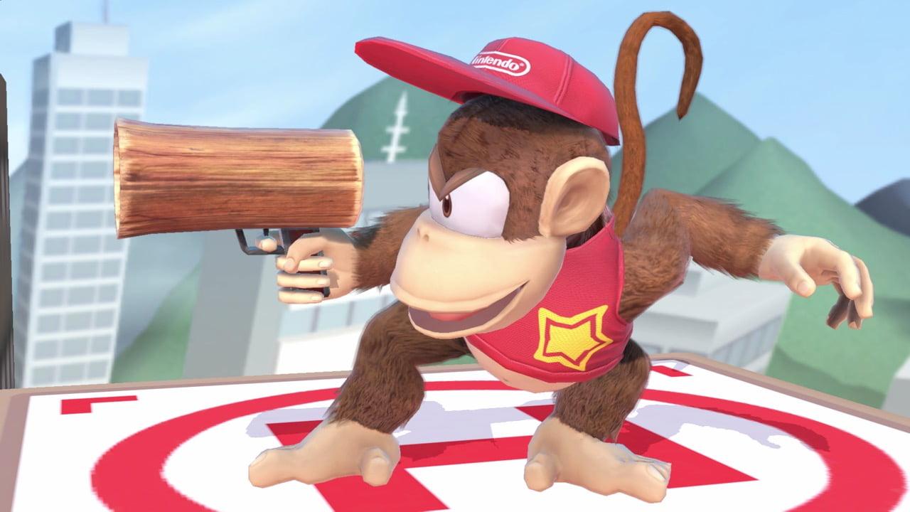 Diddy Kong Smash Posed