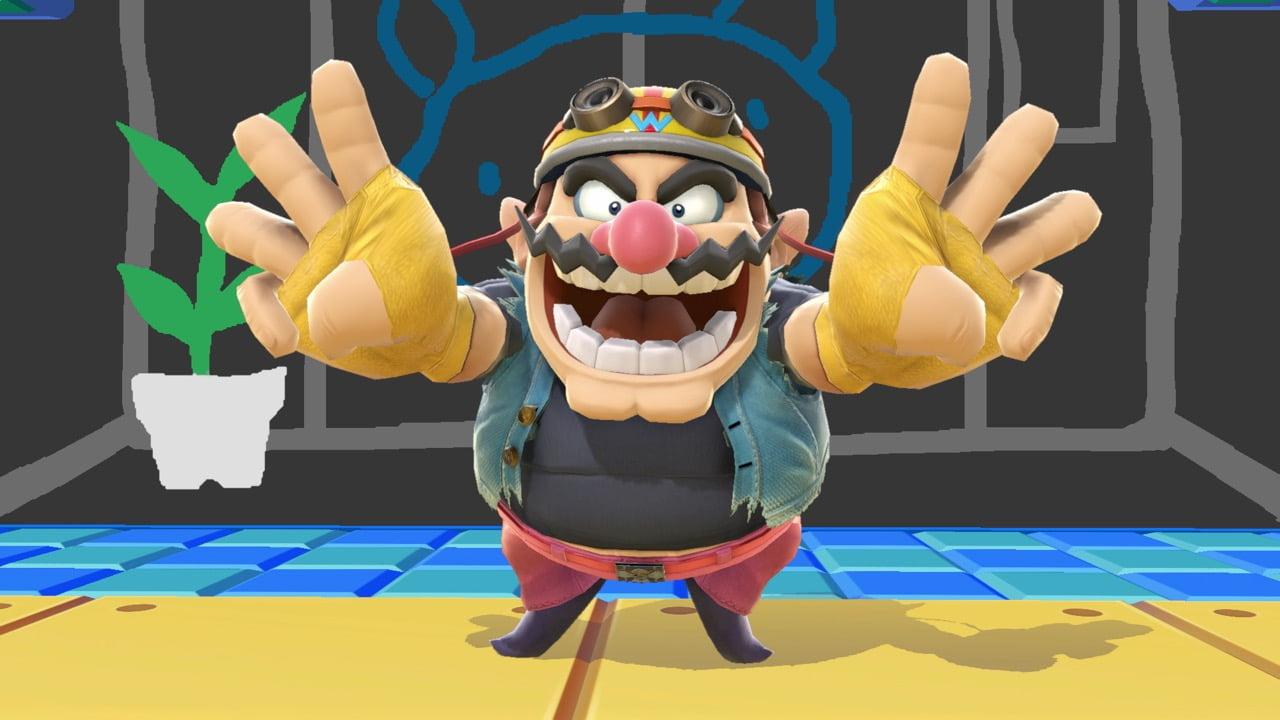 Smash Ultimate Wario