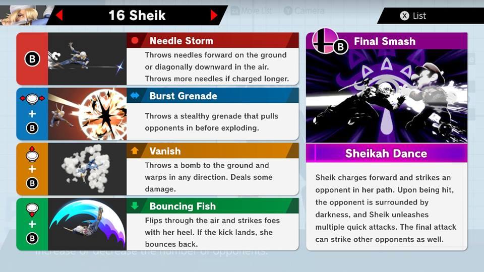 Sheik Smash Ultimate Guide