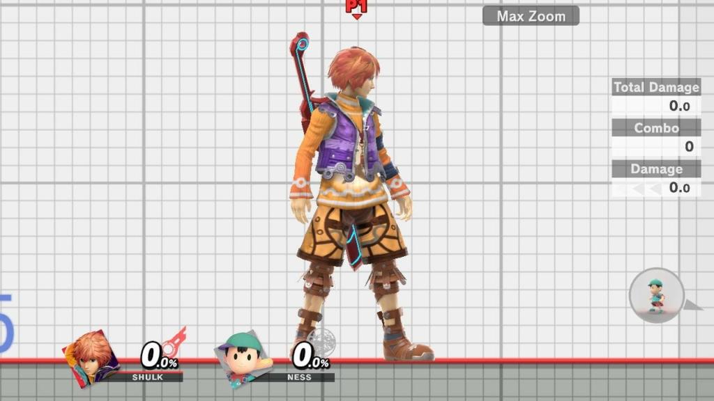 Shulk Smash Ultimate