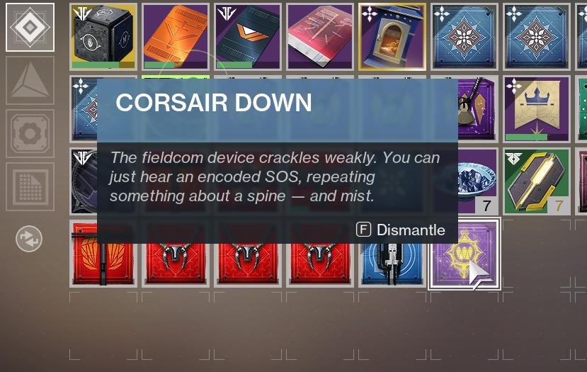 Destiny 2 Corsair Down