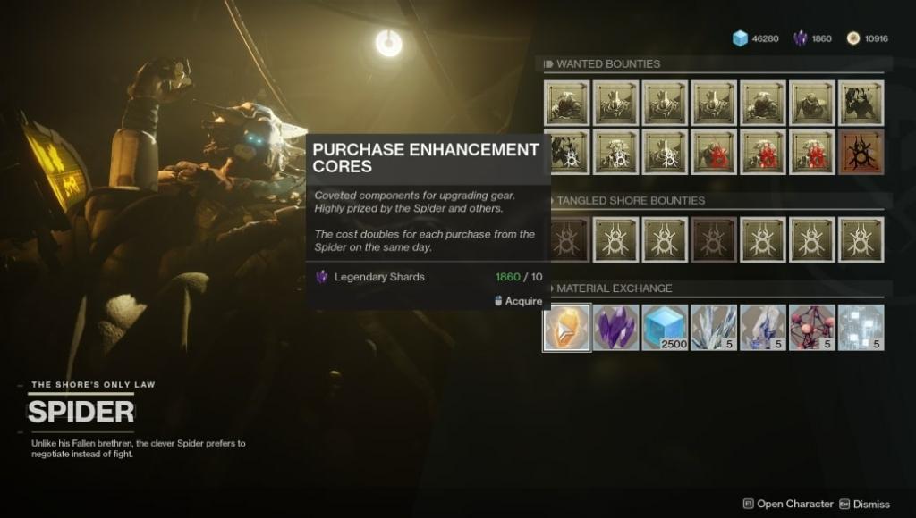Destiny 2 Enhancement Core