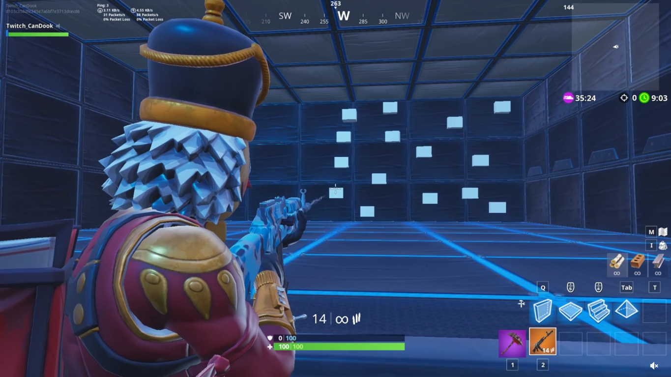 Fortnite Warm Up Course
