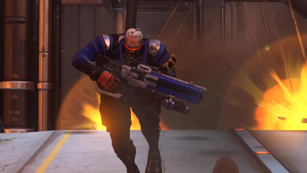Overwatch Soldier Gay