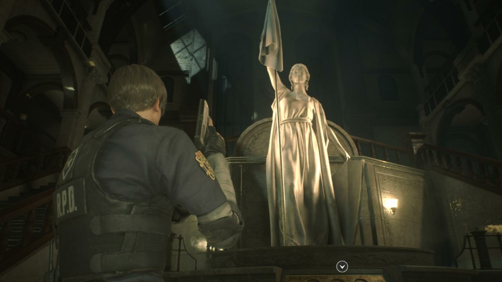 Resident Evil 2 Medallion Puzzle
