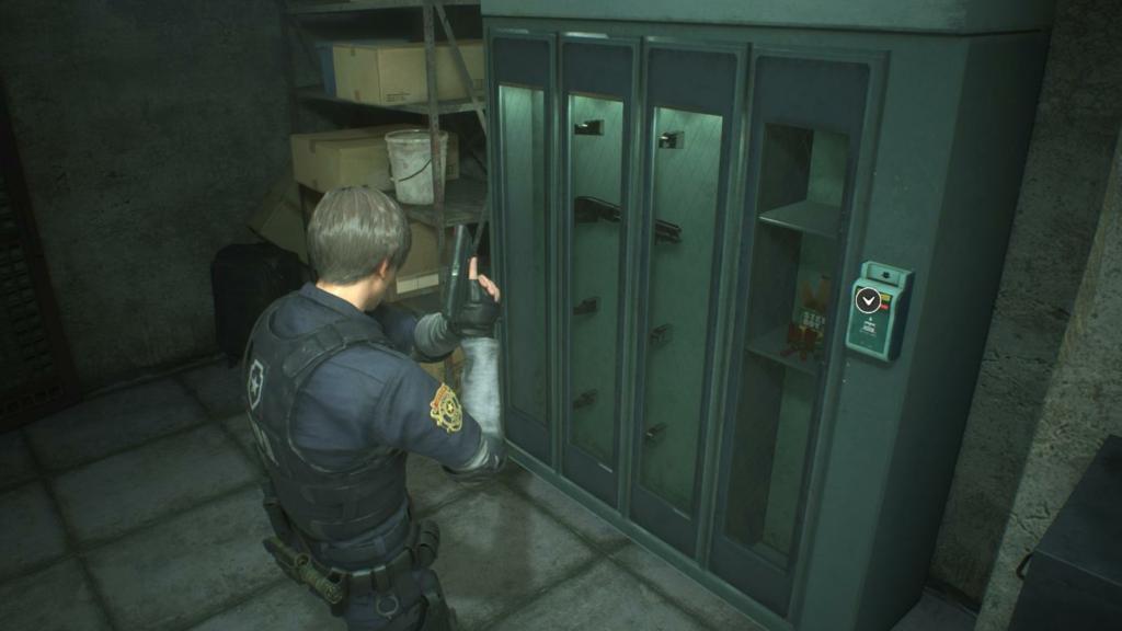 Resident Evil 2 Shotgun Grenade Launcher
