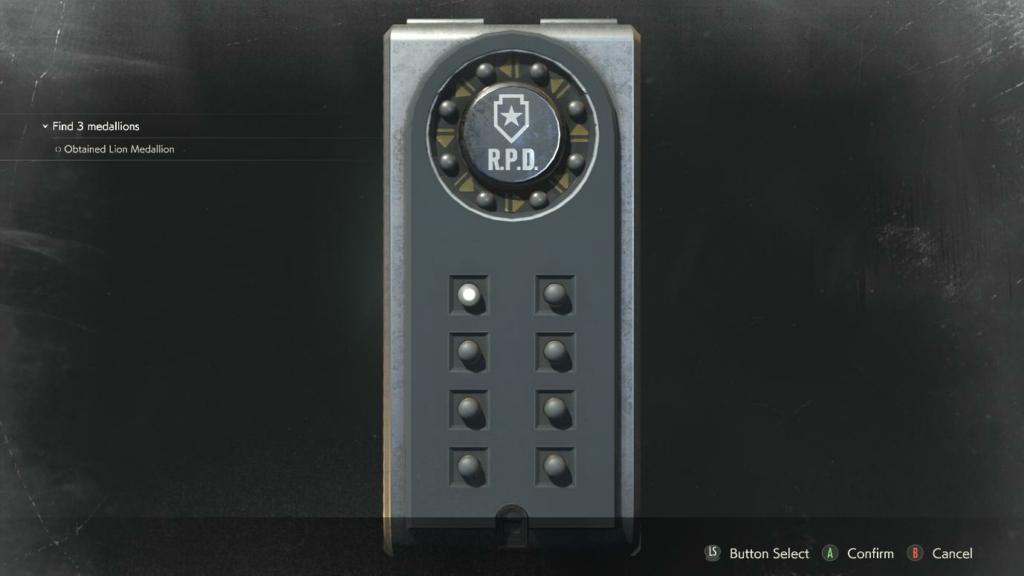 Resident Evil 2 Spare Keys