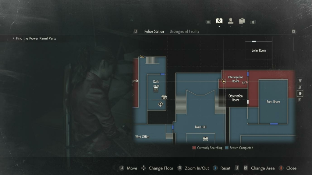 Resident Evil 2 SMG Magnum