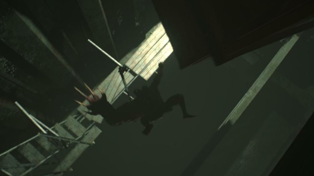 Resident Evil 2 G Second Boss Fight