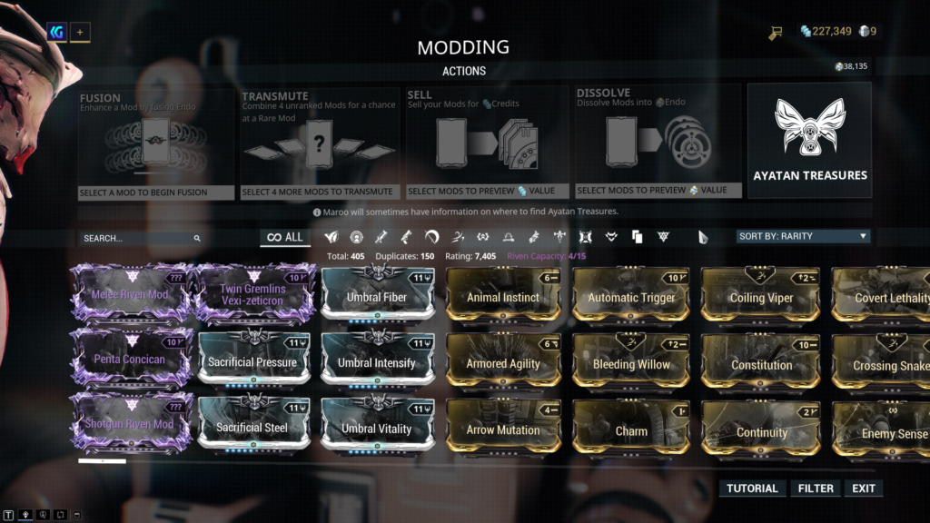Warframe Nova Mods – Allows nova to recast the ability, forcing the current particles to home in on.
