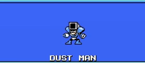 dust man mega man 4