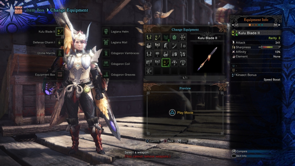 Monster Hunter World Insect Glaive