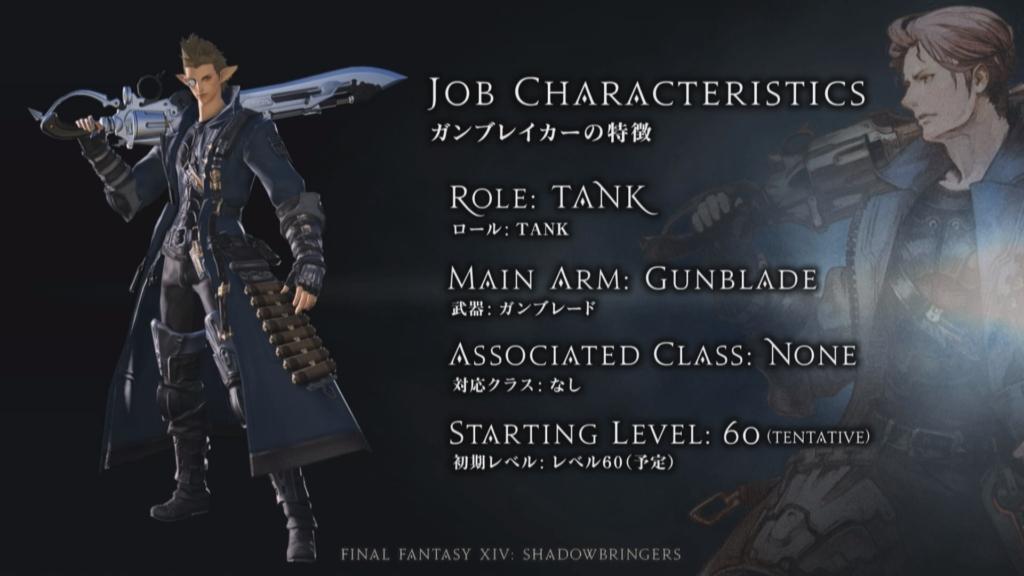 Final Fantasy 14 Gunbreaker