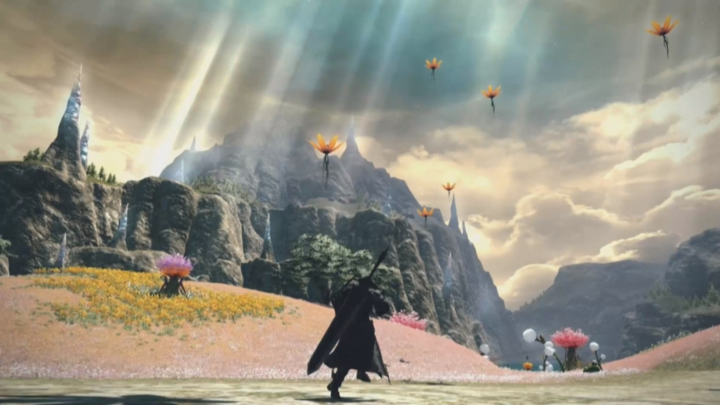 Final Fantasy 14 New Area