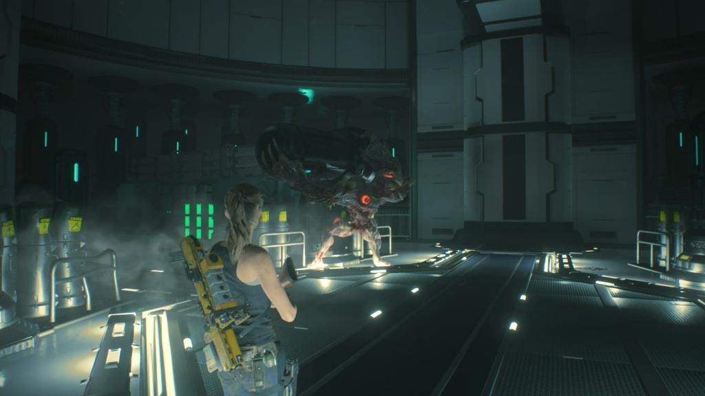 Resident Evil 2 Third Boss Fight