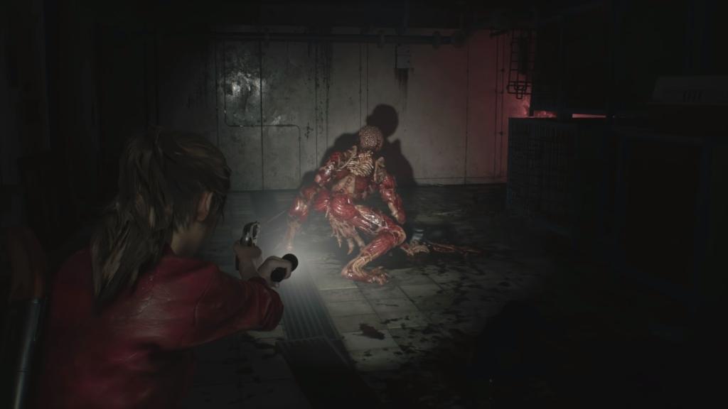 Resident Evil 2 Remake Licker 2