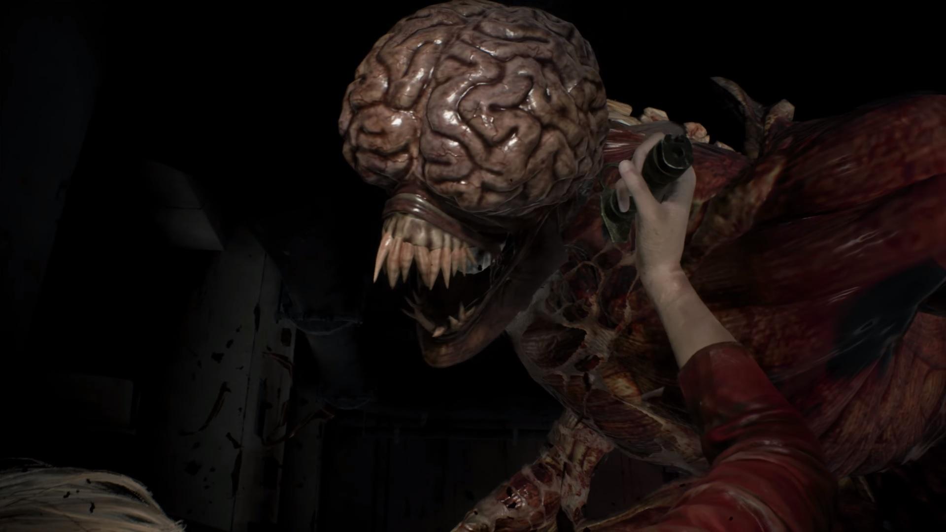 Resident Evil 2 Remake Licker
