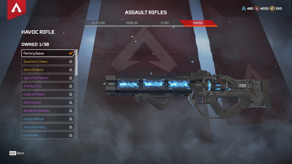 Apex Legends Havoc