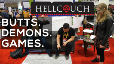 Photo of Hellcouch: Gluteal Exorcises at GDC 2019