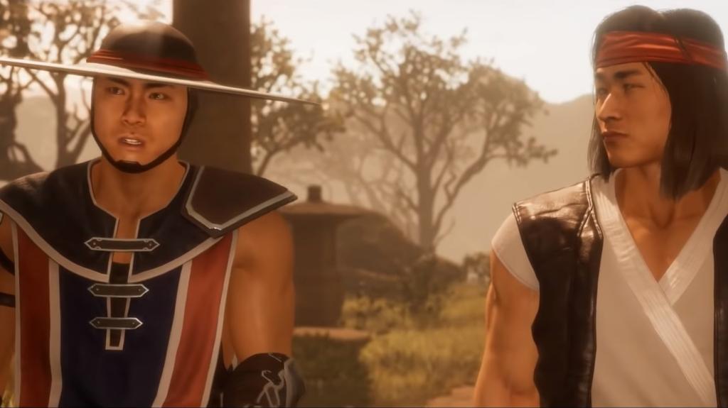 Mortal Kombat Kung Lao & Liu Kang