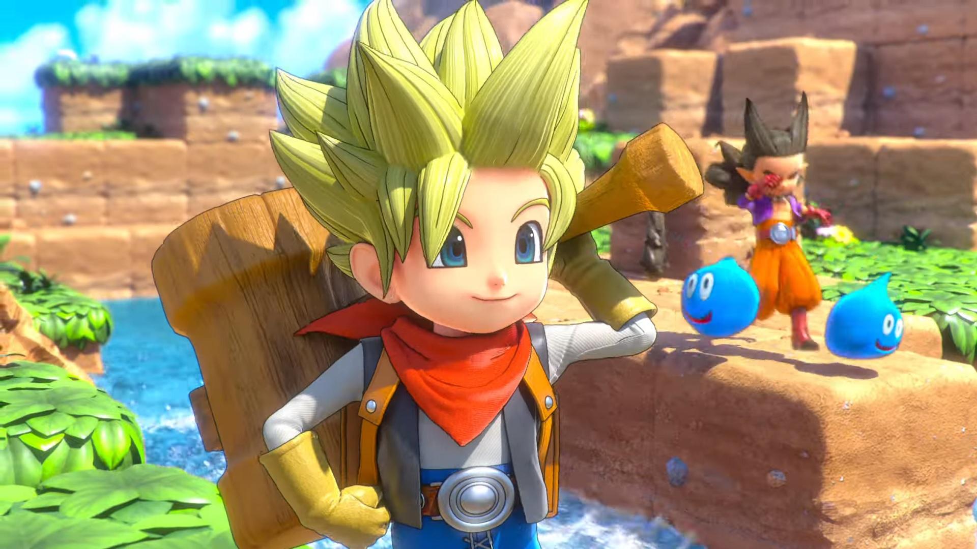 Dragon Quest Builders 2 E3 2019 Demo 1