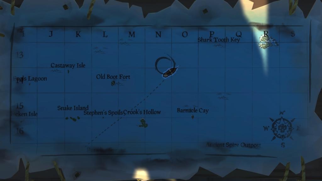 Uncharted Island Location Shroudbreaker