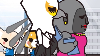 Photo of Aggretsuko's Power Walking Women Are Basically Dragon Ball Z Characters