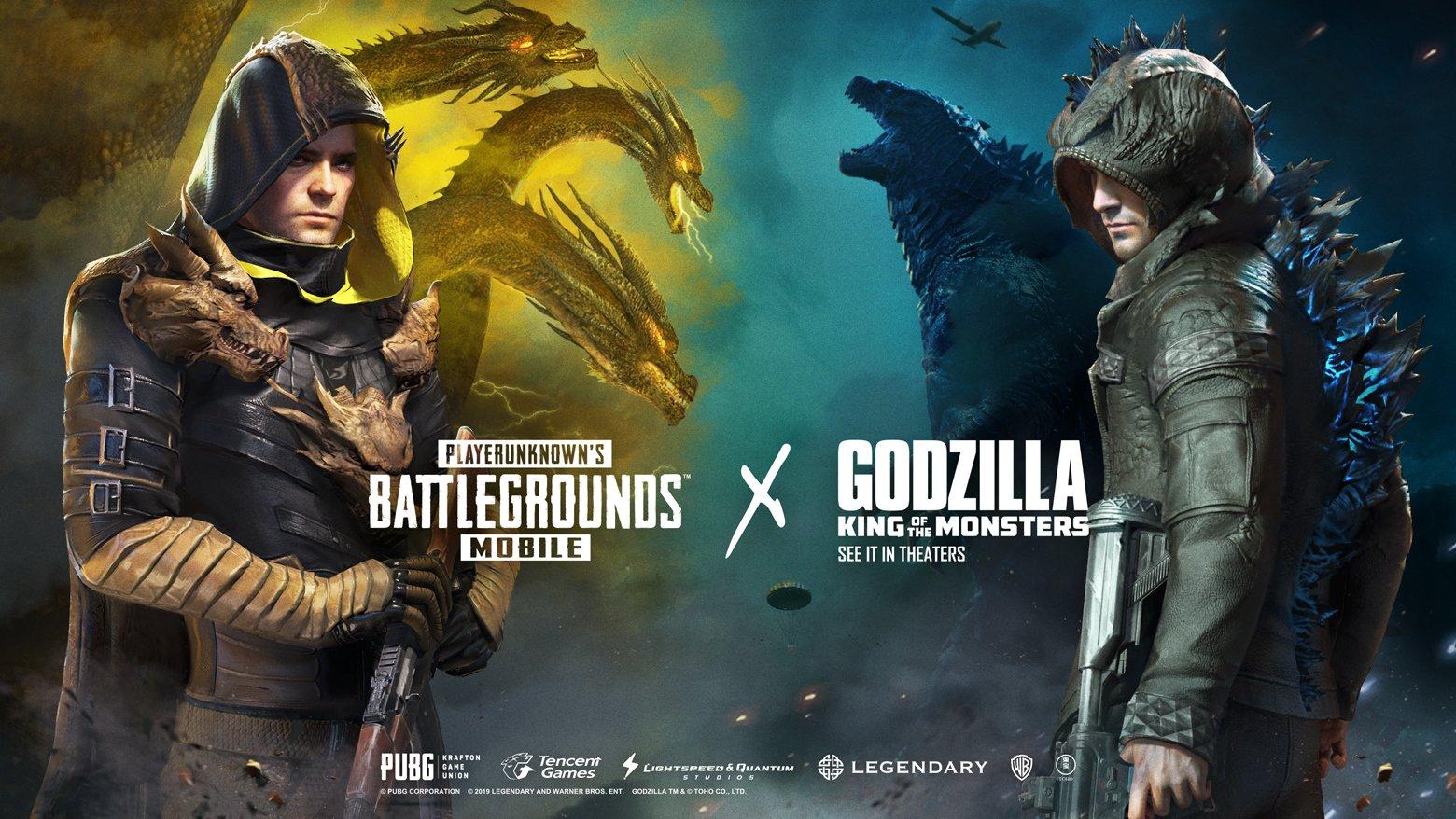 PUBG Mobile Godzilla skins
