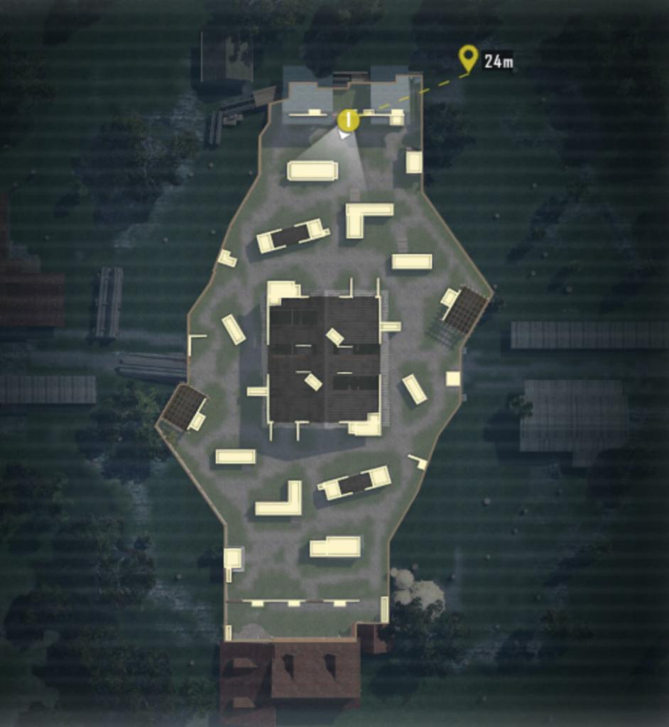 PUBG Mobile Warehouse TDM map